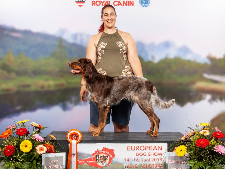 Amira ist European Winner 2019